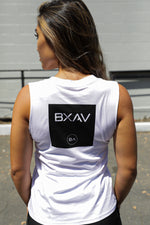 Womens BA Circle Cut-Off (White/Black)