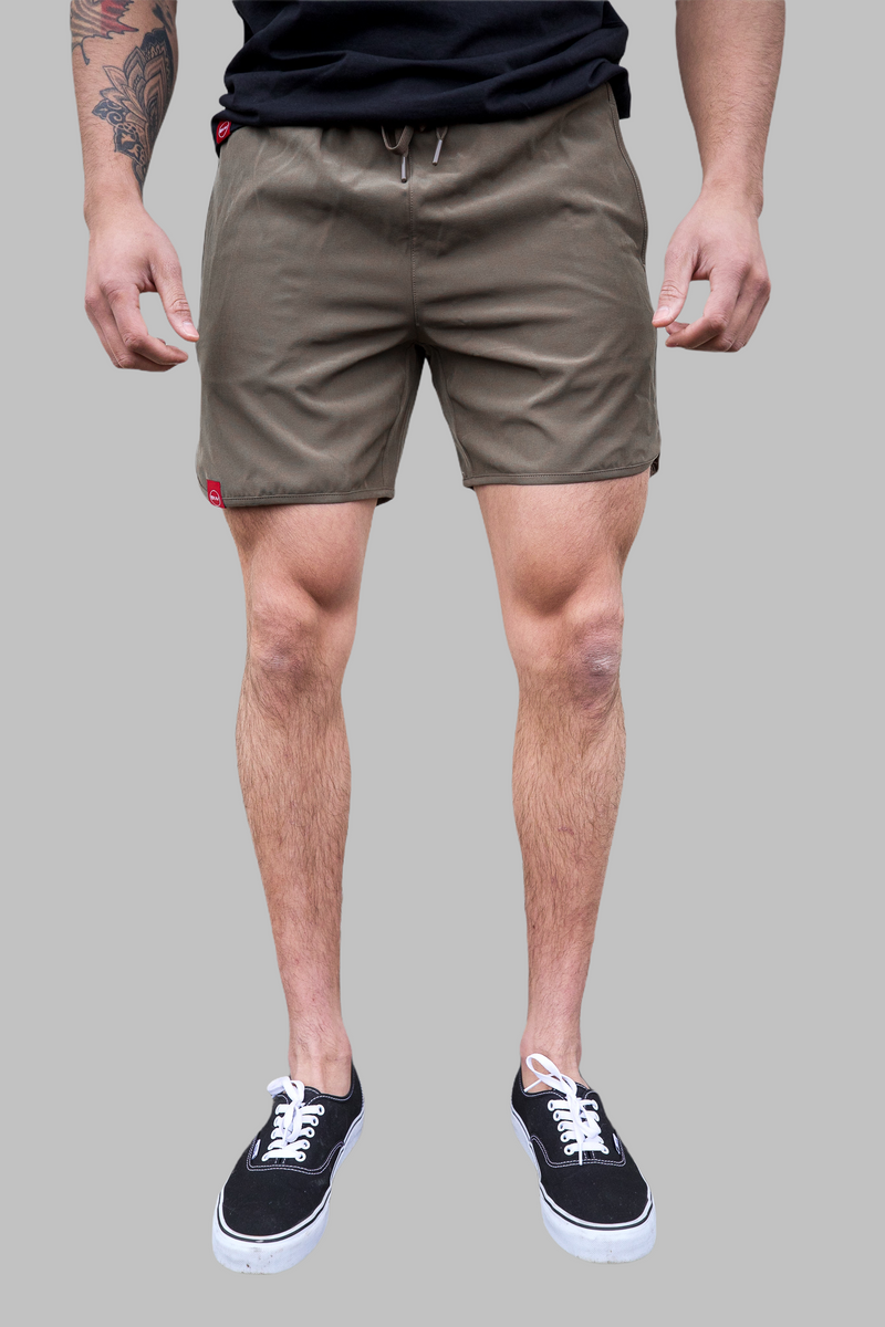 Tech Shorts (Olive)