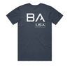 BA USA Tee (Petrol Blue)