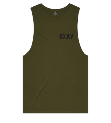 Jersey Print Cut-Off (Army)