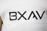 BXAV Split Hem Tank (White/Black)