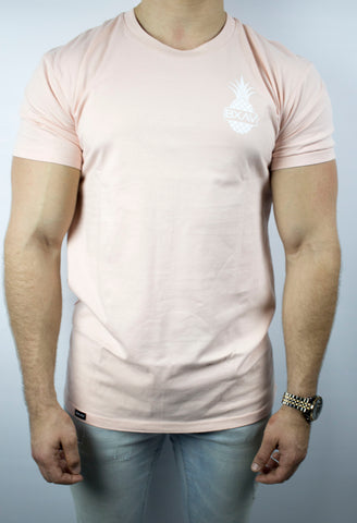The Pineapple Tee (Pastel Pink)