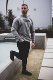 Blocked Crew Neck [Light Gray]