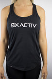 Womens Bxactiv Racerback (Black/White)