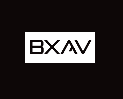 White BXAV Sticker