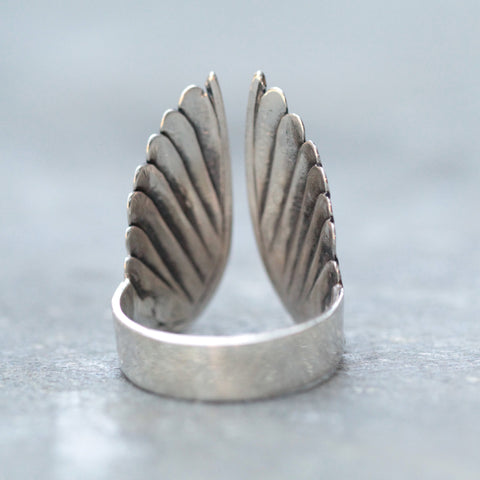 Angel Wings Ring - donbiujewelry  - 6