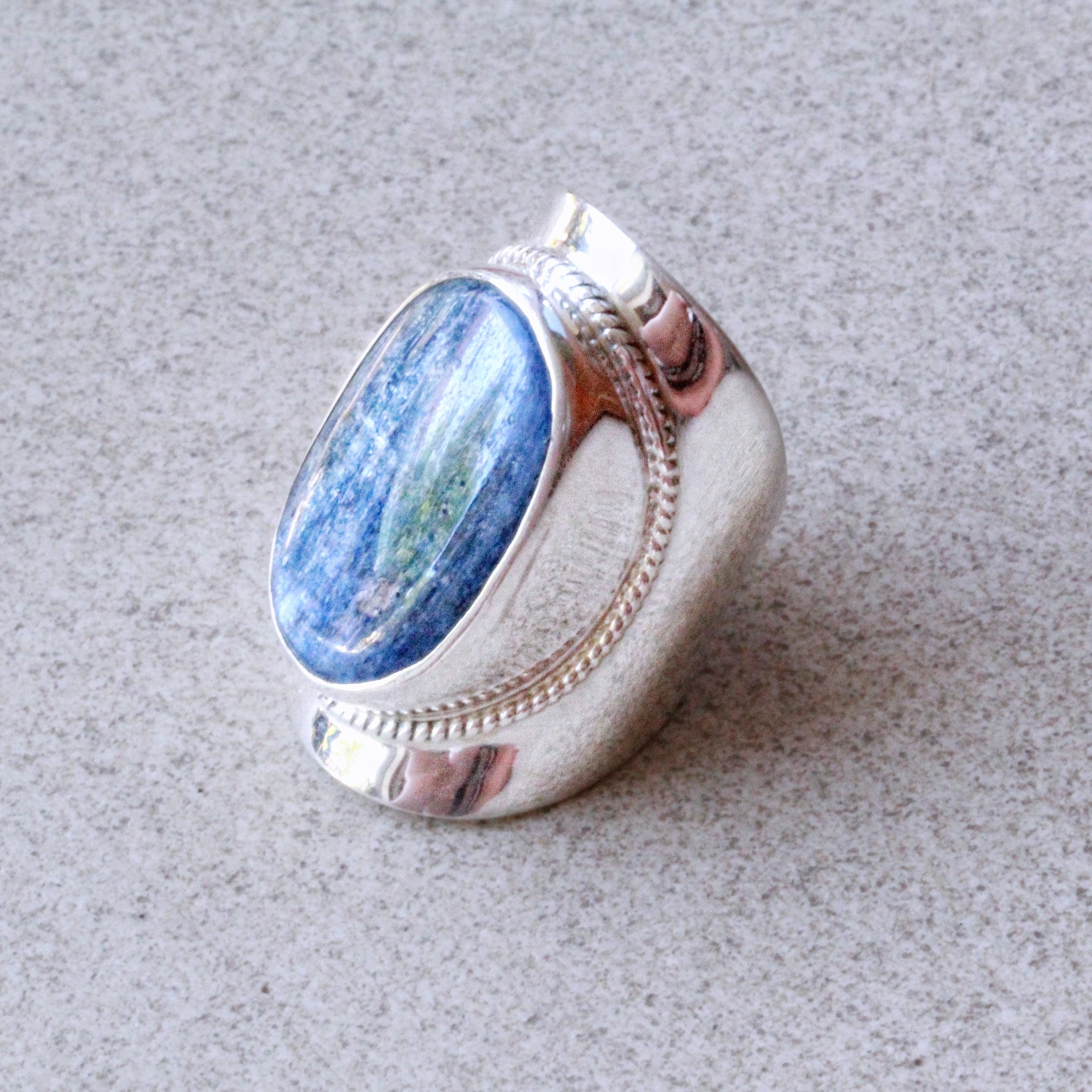 products rings quench image galaxy metalworks ring kyanite with