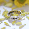 Hand Stamped Band Ring - donbiujewelry  - 4