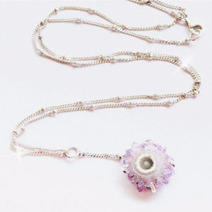 Stalactite Flower Y Necklace - donbiujewelry  - 1