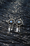 Dreamcatcher Earrings with Crystal - donbiujewelry  - 2