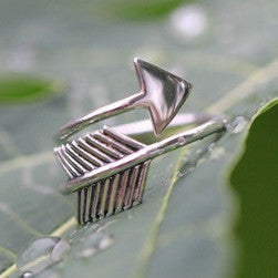 Sterling Arrow Ring