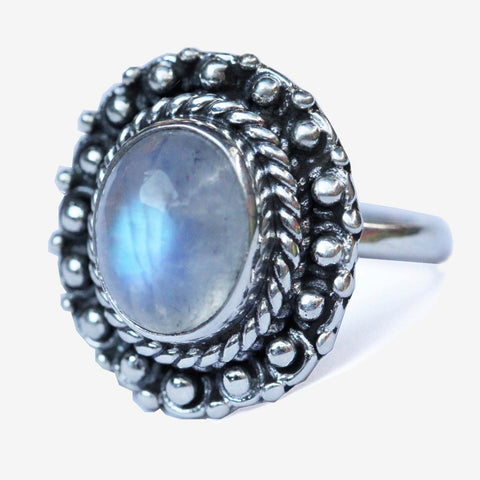 Altire Moonstone Ring