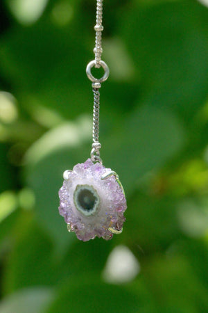 Stalactite Flower Y Necklace - donbiujewelry  - 3