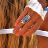Voila Kyanite Ring - donbiujewelry  - 2
