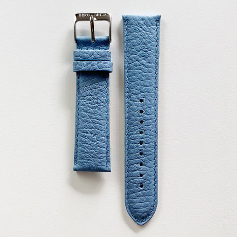 Strap 20mm Navy and Silver
