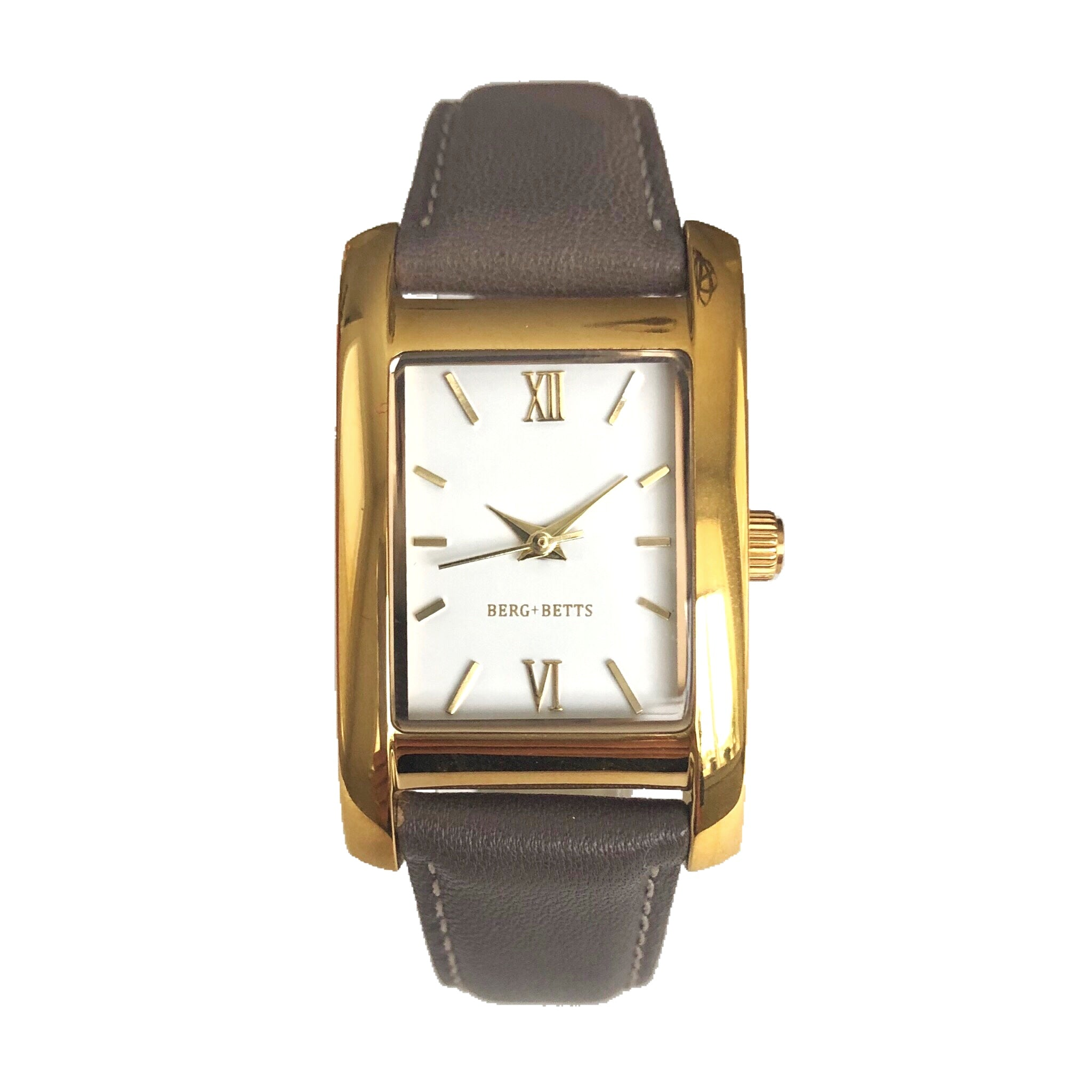 Minimalistic classic rectangular watch design perfect for your sustainable capsule wardrobe