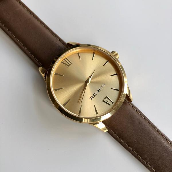 BERG+BETTS sustainable watches designed and assembled in Canada
