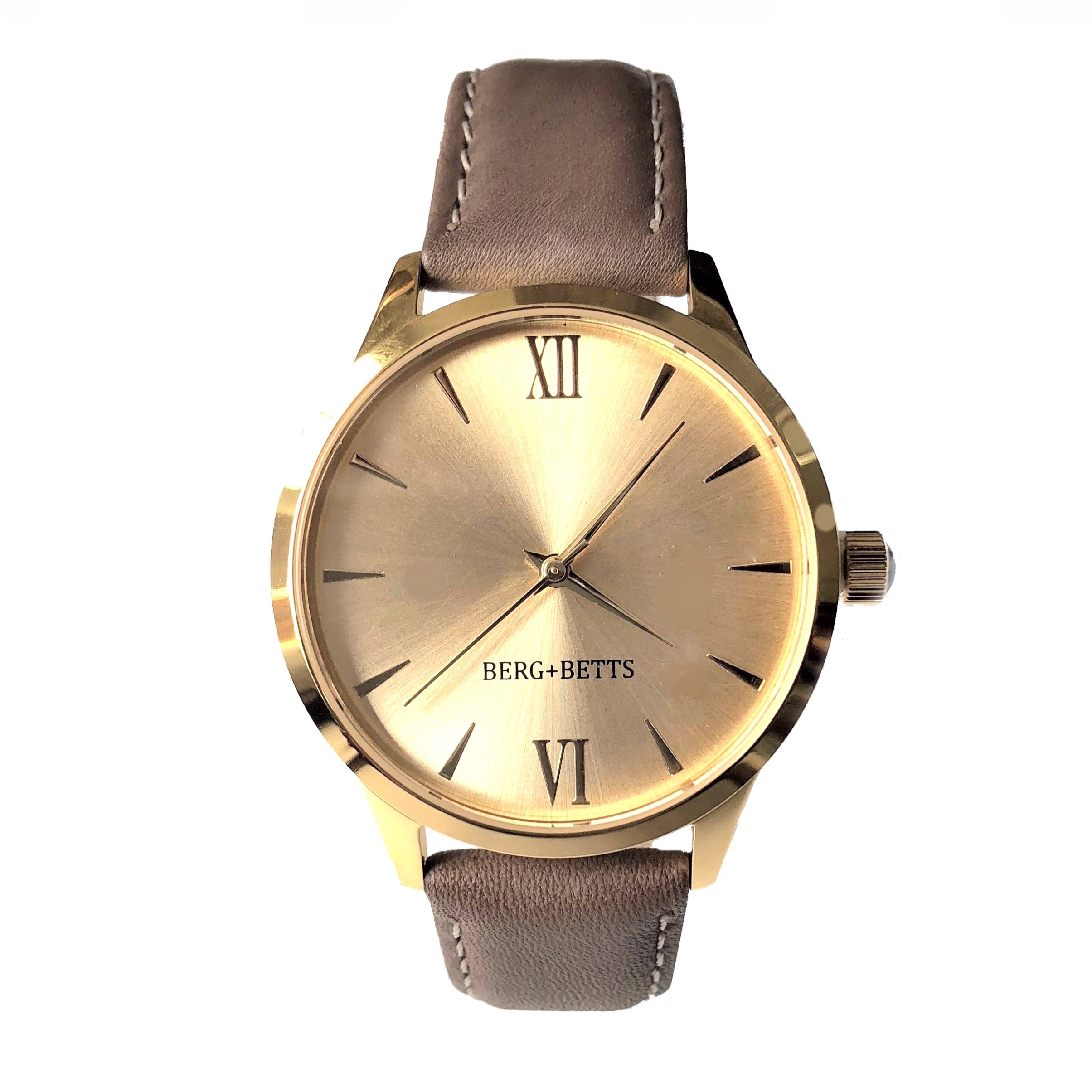 Ethically made Sustainable gold watch from BERG+BETTS