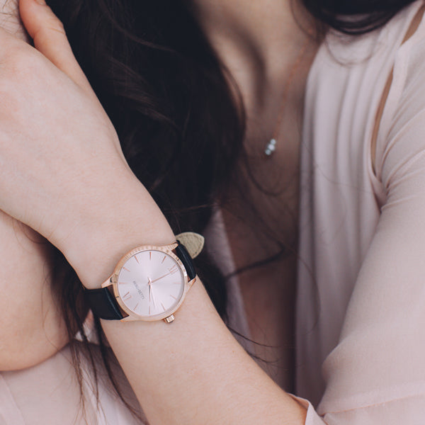 Minimalist Women's Essentials with Berg + Betts sustainable watches