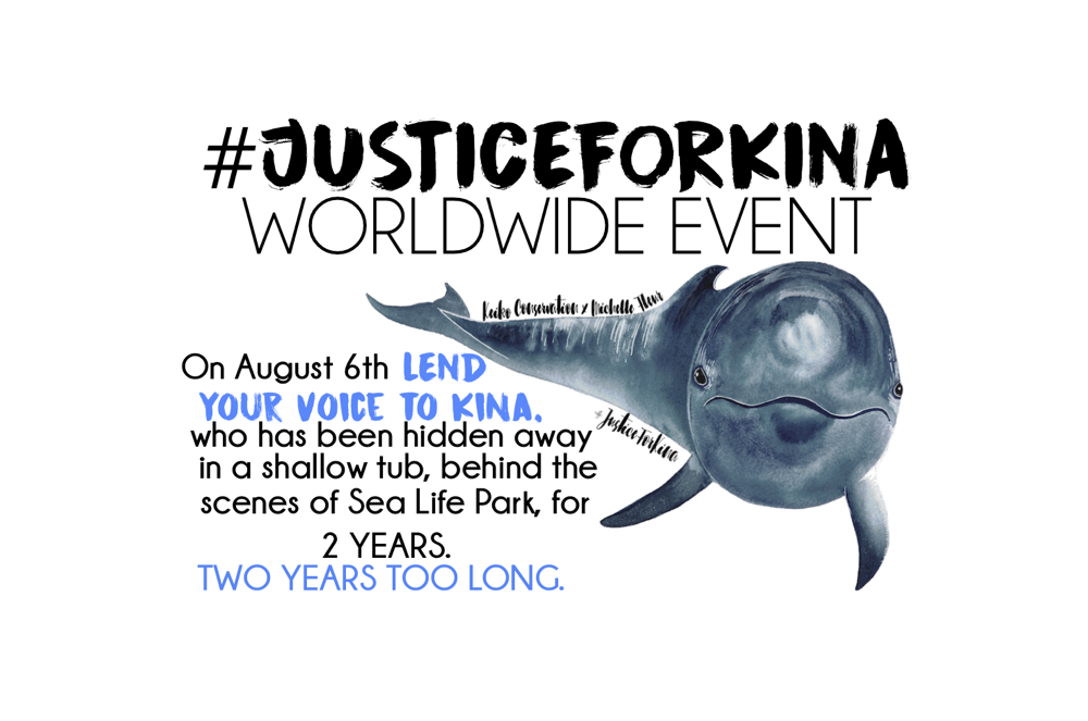 On August 6th Lend Your Voice To Kina