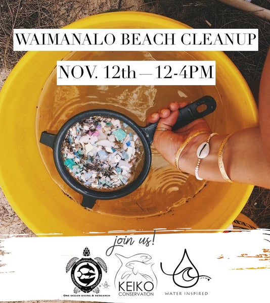 keiko conservation one ocean diving reef and beach cleanup