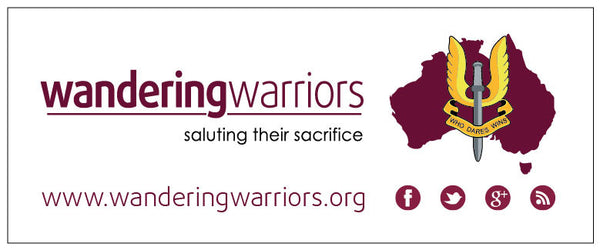 Bumper Sticker - Wandering Warriors