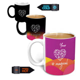 Magical Heart - Ceramic Mug, Multicolor, 315ml, 1 Unit