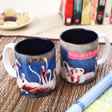 Wild Focus -  Birds of a Feather Ceramic Mug 350 ml, 1 Pc