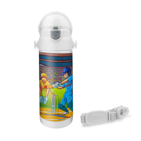 Wanna Be A Cricketer - Insulated Bottle