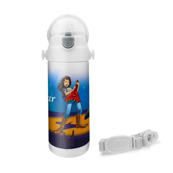 Wanna Be A Rockstar - Insulated Bottle