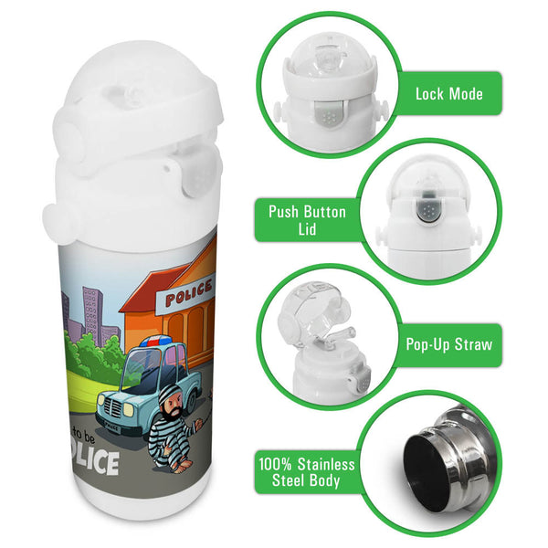Want to be Police - Insulated Bottle