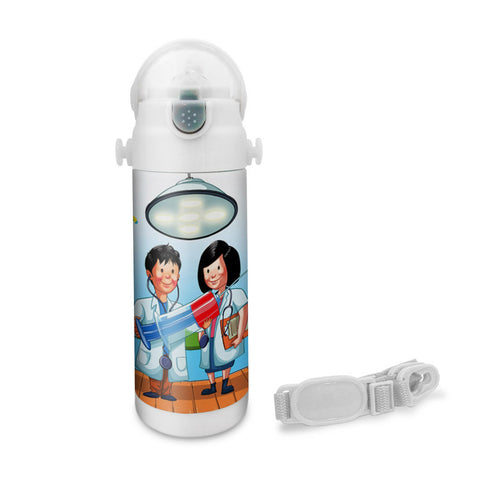 Want to be A Doctor - Insulated Bottle