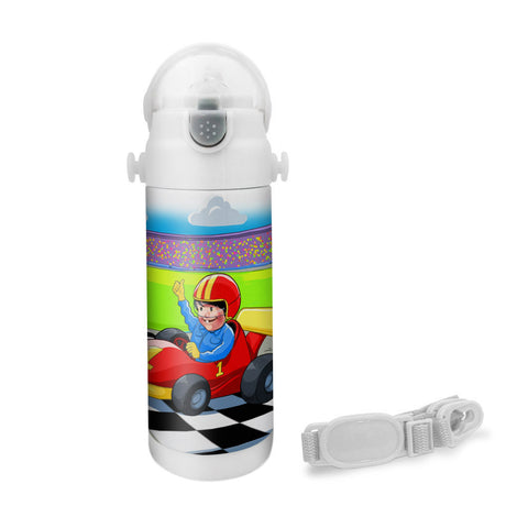 Want to be A Racer - Insulated Bottle
