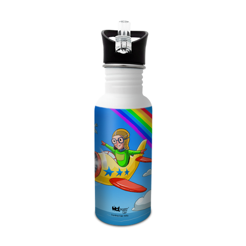 Want to be A Pilot - Sipper Cap Bottle