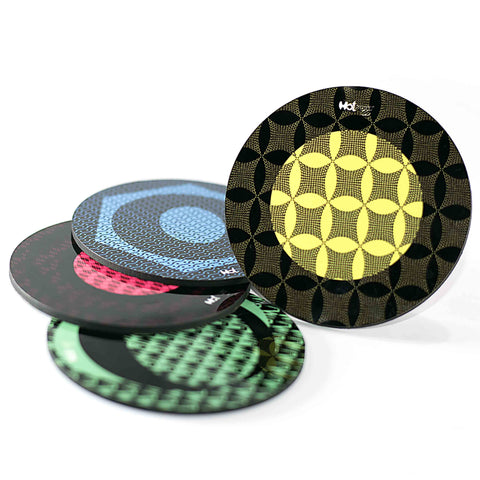 Patternology - Round Coasters (Set of 4)