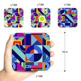 Patterns Tribal - Coasters (Set of 4)