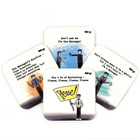 For Managers - Coasters (Set of 4)