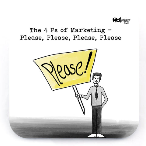 Manager - 4Ps of Marketing - Coaster (Single)