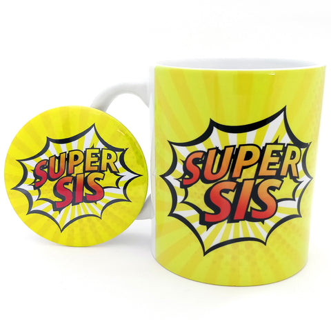 Super Sis - Comic Style Ceramic Mug