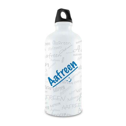 Me Graffiti Bottle - Aafreen