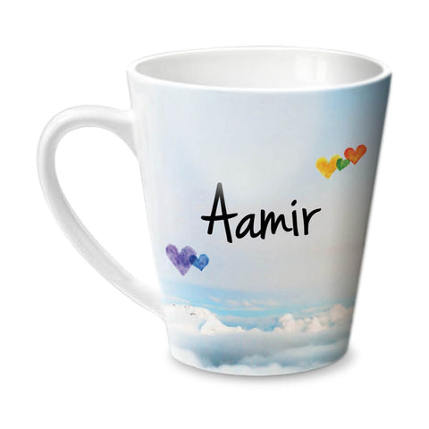 Simply Love You Aamir Conical  Mug