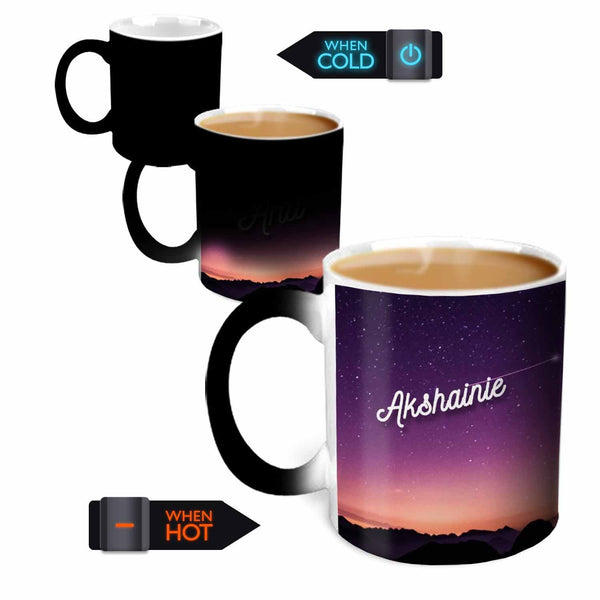 Hot MuggsYou're the Magic… Akshainie Magic  Color Changing Ceramic Mug 315ml, 1 Pc