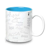 Me Graffiti-Aqsa Ceramic  Mug 315  ml, 1 Pc
