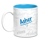 Me Graffiti Mug - Asher