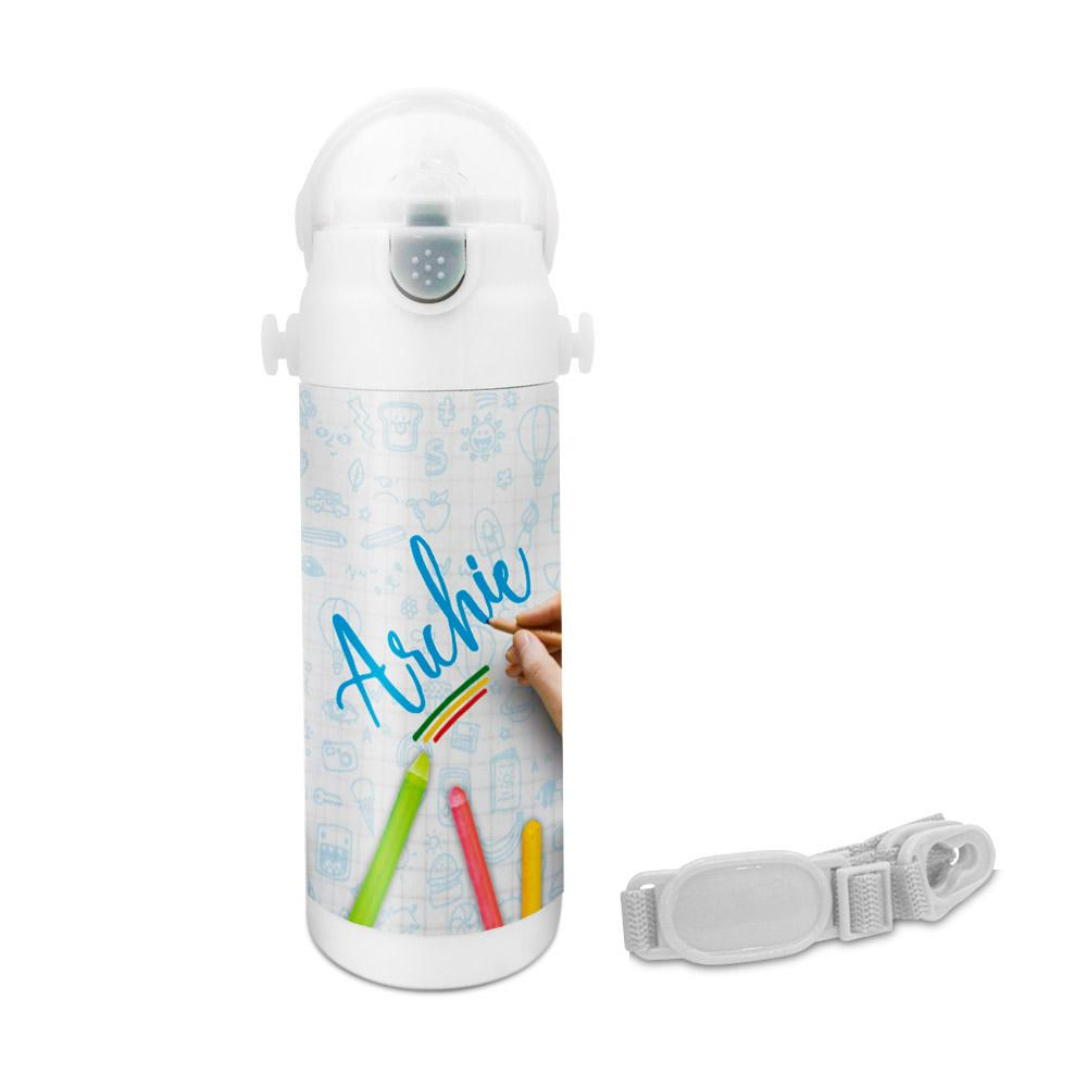 Archie - Crayons Insulated Astro Bottle