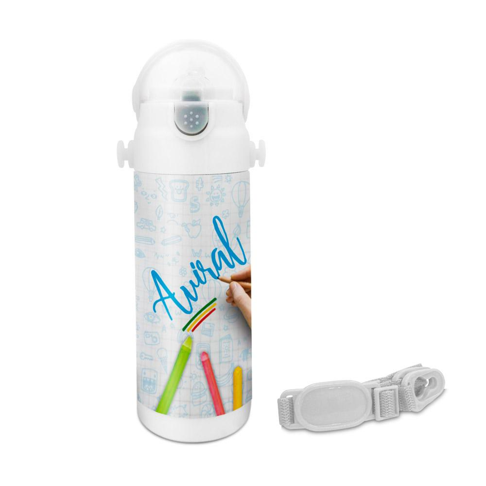 Aviral - Crayons Insulated Astro Bottle