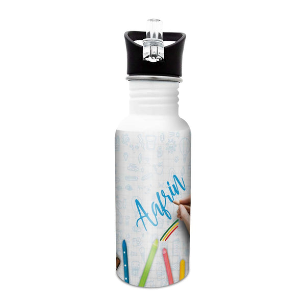 Aafrin - Crayons Sipper Cap Bottle