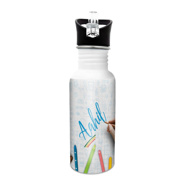 Aahil - Crayons Sipper Cap Bottle