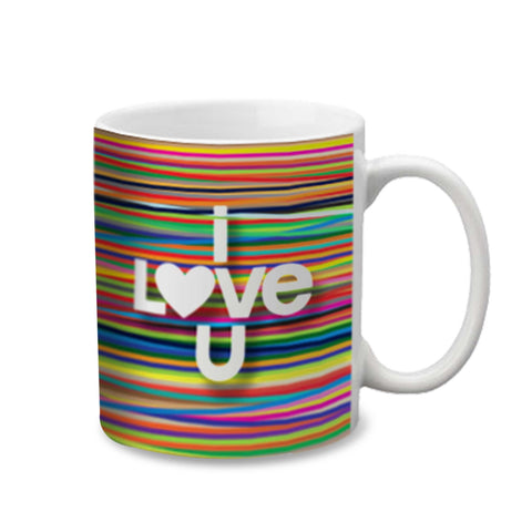 Hotmuggs Colors I Love you Mugs 350 ml, 1 pc - Hot Muggs