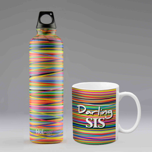 Colors Combo Gift Set for Your Sister - Hot Muggs - 1